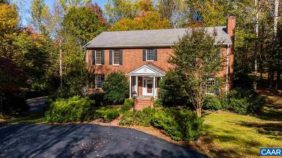Charlottesville Single Family Home For Sale: 130 Terrell Rd E