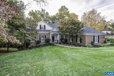 Charlottesville Single Family Home For Sale: 3221 Wallingford Ln