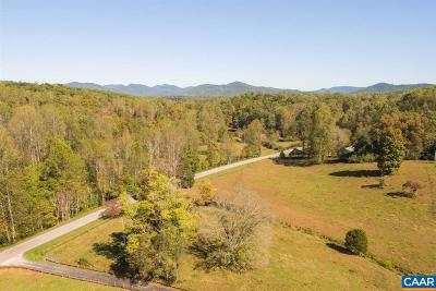 Nelson County Lots & Land For Sale: 2434 Stagebridge Rd