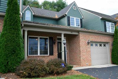 Staunton Townhome For Sale: 95 Villa View Dr