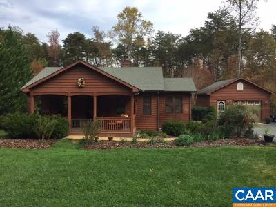 Fluvanna County Single Family Home For Sale: 703 Barnaby Rd