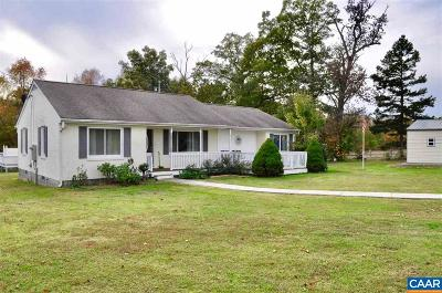 Scottsville Single Family Home For Sale: 3161 Rolling Rd South