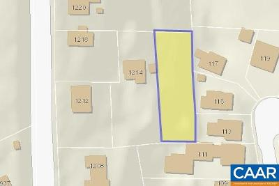 Charlottesville County Lots & Land For Sale: Preston Ave
