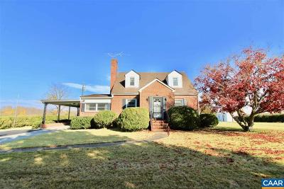Louisa County Single Family Home For Sale: 6976 Zachary Taylor Highway