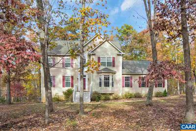 Louisa County Single Family Home For Sale: 528 Buck Branch Dr