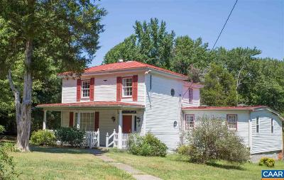 Louisa Single Family Home For Sale: 6498 Byrd Mill Rd