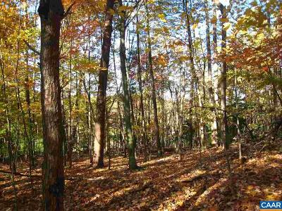 Albemarle County Lots & Land For Sale: Castle Rock Rd