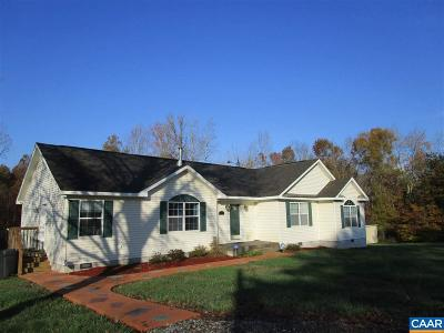 Louisa County Single Family Home For Sale: 6 Meadowview Ln