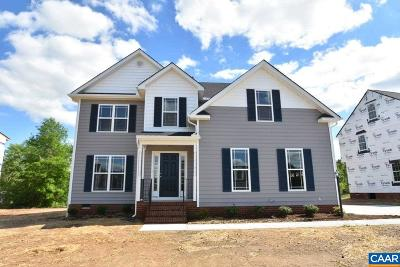 Fluvanna County Single Family Home For Sale: Lot 1 Kathys Ln
