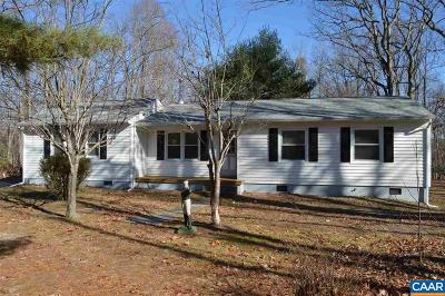 Palmyra Single Family Home For Sale: 3576 Central Plains Rd