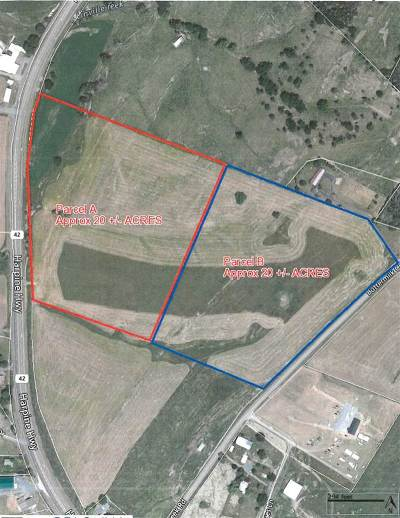 Lots & Land For Sale: 21 Acres Harpine Hwy