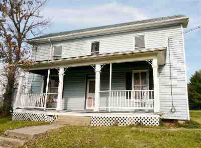 Shenandoah County Single Family Home For Sale: 188 E Old Cross Rd
