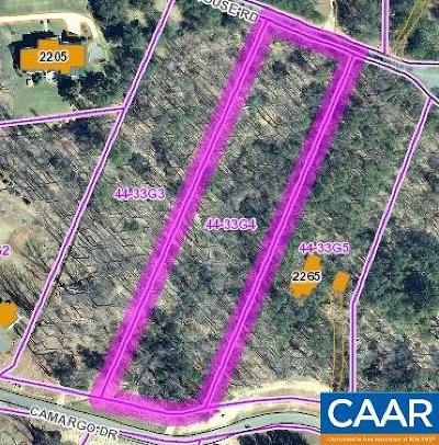 Albemarle County Lots & Land For Sale: Lot 5 Camargo Dr