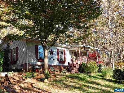 Albemarle County Single Family Home For Sale: 4346 Sharon Rd