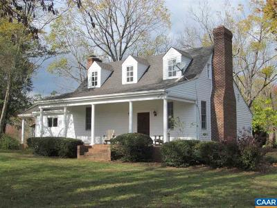 Fluvanna County Single Family Home For Sale: 611 N Boston Rd