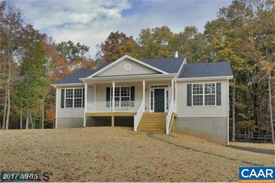 Louisa County Single Family Home For Sale: 1183 Peach Grove Rd