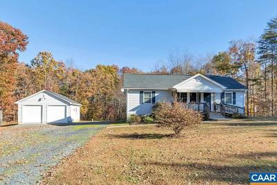 Buckingham County Single Family Home For Sale: 35 B-A-H Rd