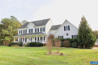 Louisa, Louisa County Single Family Home For Sale: 59 Andrews Crossing Rd