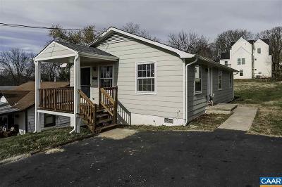 Charlottesville County Single Family Home For Sale: 1009 Altavista Ave