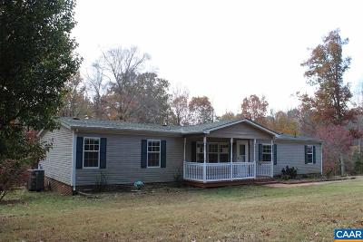 Louisa County Single Family Home For Sale: 150 Waldrop Church Rd