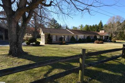 Augusta County Single Family Home For Sale: 145 Crimora Mine Rd