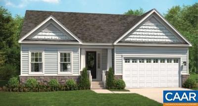 Charlottesville VA Single Family Home For Sale: $413,900