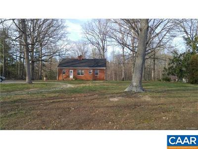 Buckingham County Single Family Home For Sale: 343 Lee Wayside Rd
