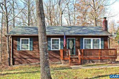 Fluvanna County Single Family Home For Sale: 676 Jefferson Dr