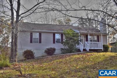 Fluvanna County Single Family Home For Sale: 45 Kiowa Ln