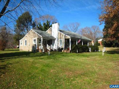 Nelson County Single Family Home For Sale: 136 Court St