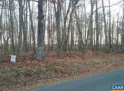 Fluvanna County Lots & Land For Sale: Shiloh Church Rd
