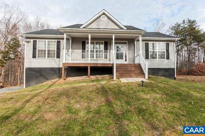 Gordonsville Single Family Home For Sale: 215 Waverly Forest Ln