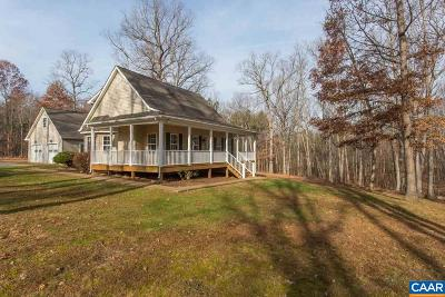 Fluvanna County Single Family Home For Sale: 1363 Shiloh Church Rd