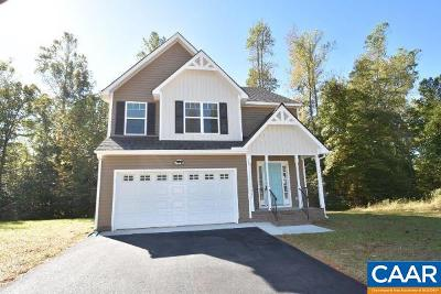 Albemarle County Single Family Home For Sale: 8 Briery Farm Rd