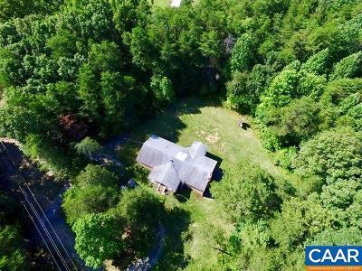 Buckingham County Single Family Home For Sale: 1105 N Texas School Rd