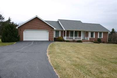 Augusta County Single Family Home For Sale: 1478 Keezletown Rd