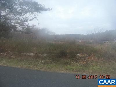 Buckingham County Lots & Land For Sale: Crumptown Rd