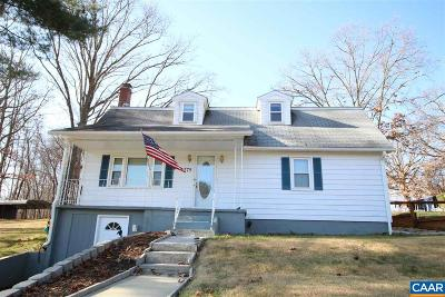 Augusta County Single Family Home For Sale: 779 Old White Hill Rd