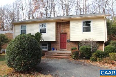 Charlottesville Single Family Home For Sale: 209 Old Lynchburg Rd