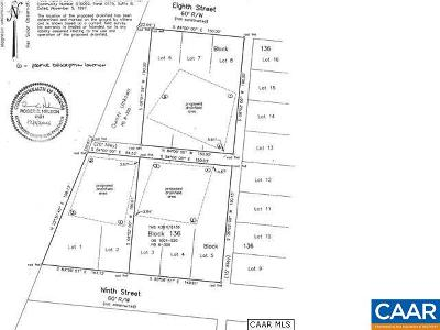 Louisa County Lots & Land For Sale: 3 9th St