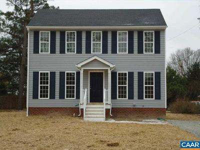 Louisa Single Family Home For Sale: 6 Waltons Store Rd