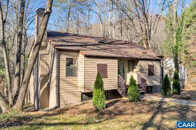 Charlottesville Single Family Home For Sale: 221 Turkey Ridge Rd