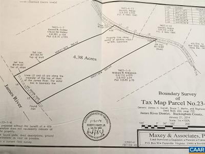 Buckingham VA Lots & Land For Sale: $30,000