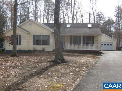 Fluvanna County Single Family Home For Sale: 812 Jefferson Dr