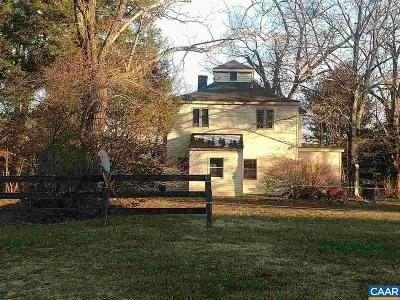 Albemarle County Single Family Home For Sale: 2460 Rock Branch Ln