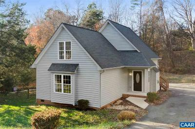 Charlottesville Single Family Home For Sale: 1318 Gristmill Dr