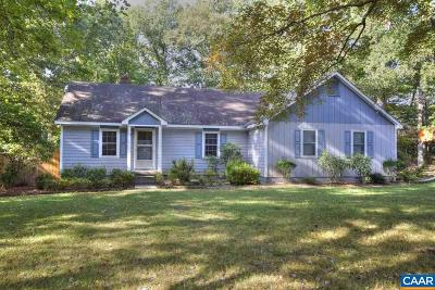 Fluvanna County Single Family Home For Sale: 6464 Union Mills Rd