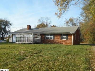 Augusta County Single Family Home For Sale: 50 Twin Hill Rd