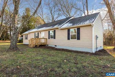 Louisa County Single Family Home For Sale: 16 Wagner Farm Rd