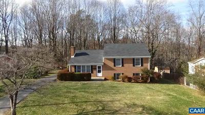 Charlottesville Single Family Home For Sale: 1287 Kenwood Ln